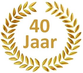 jubilaris 40 jaar 40 Jaar In Dienst Kado   ARCHIDEV jubilaris 40 jaar